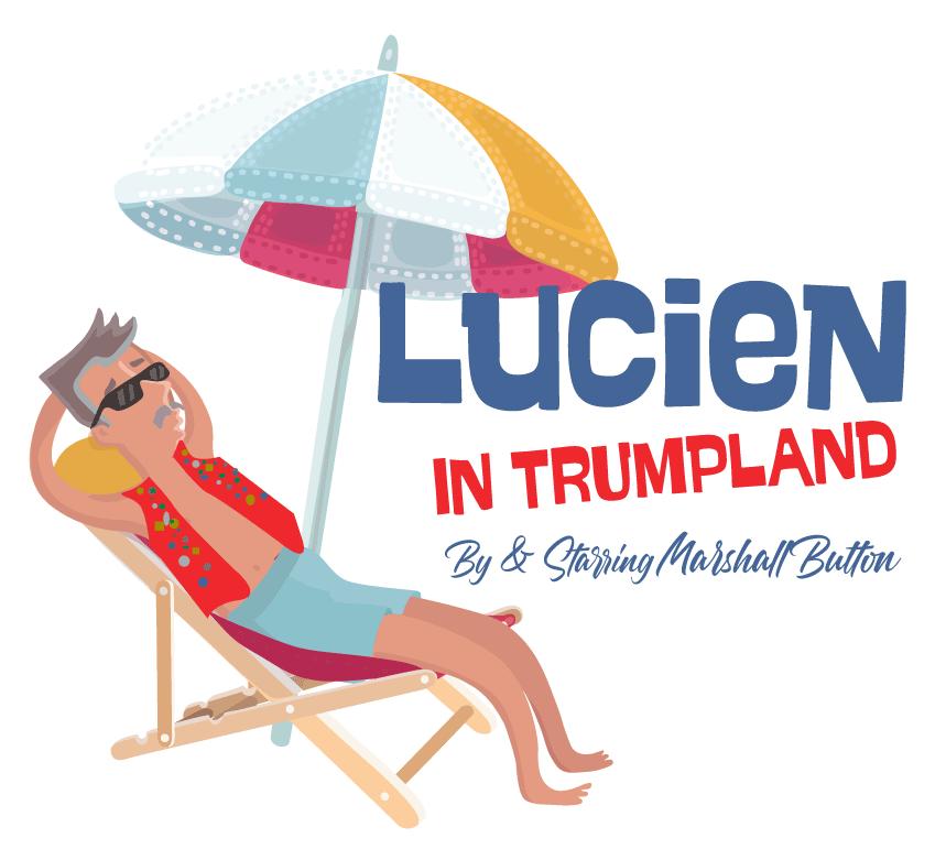Lucein on beach Illustration